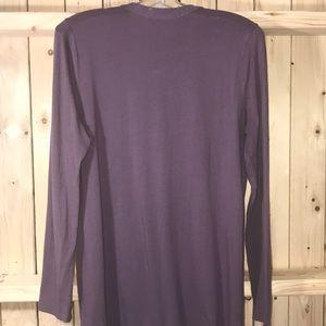 J. Jill Tops - J.Jill purple long sleeve blouse Large